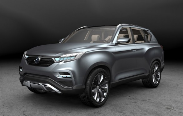 Ssangyong LIV-1: nuove immagini