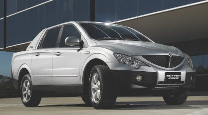 Ssangyong Actyon Sports