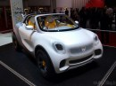Smart 3.0, Sharpred, Brabus ED e For-Us allo stand del Salone di Ginevra di Smart