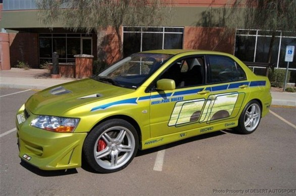 In Vendita La Mitsubishi Lancer Del Film 2 Fast 2 Furious