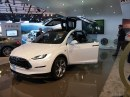 Tesla Model X - Salone di Detroit 2013 Live