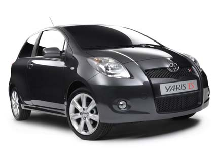 toyota yaris ts presentazione al salone di parigi. Black Bedroom Furniture Sets. Home Design Ideas