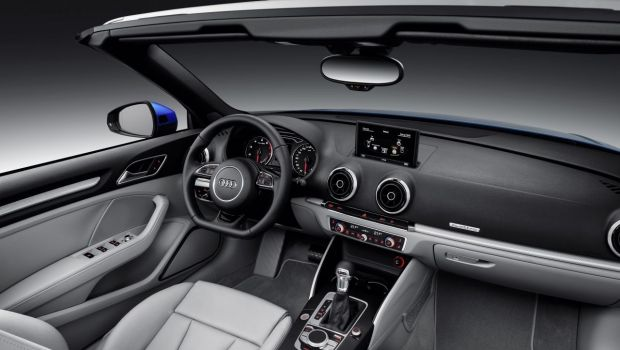 Audi A3 Cabriolet 2013 Black And Silver