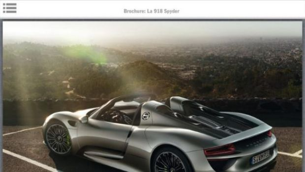 porsche 918 spyder brochure. Black Bedroom Furniture Sets. Home Design Ideas