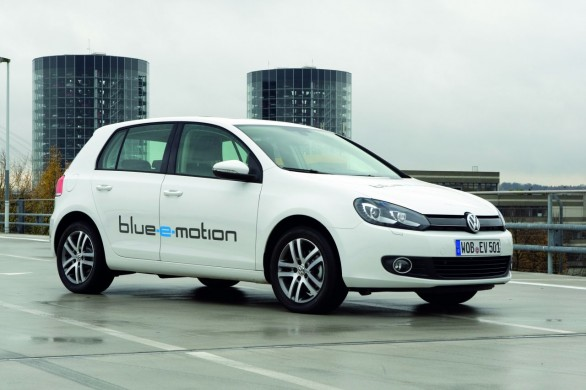 Volkswagen Golf blue-e-motion