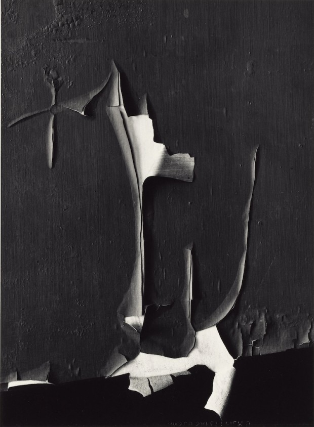 Peeled Paint, Rochester, New York, 1959, Reproduced with permission of the Minor White Archive, Princeton University Art Museum © Trustees of Princeton University