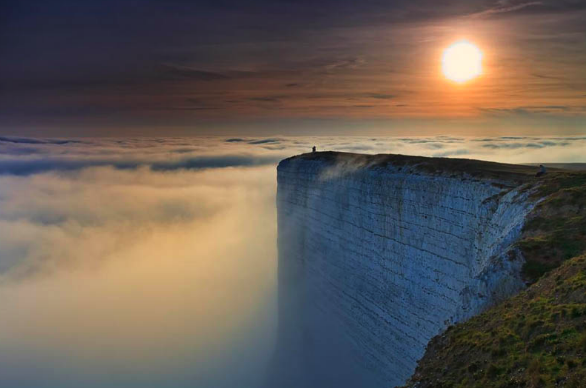 WORLD'S EDGE Photograph by RHYS DAVIES
