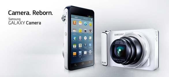 Samsung Galaxy Camera presentata a Photokina 2012