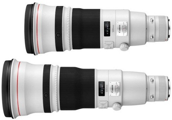 Canon EF 500mm e 600MM f/4 L IS II