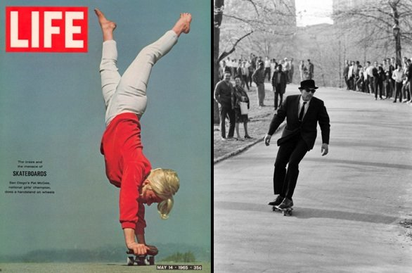 LIFE Magazine The Craze and The Menace of Skateboards