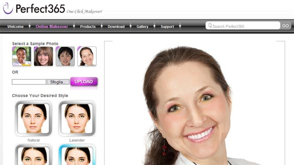 Perfect365 One-Click Makeover