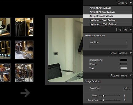 Lightroom 1.3 e SimpleViewer