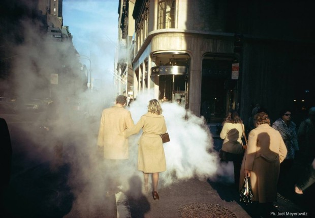 Joel Meyerowitz lectio magistralis, From Here to There, 5 Decades 1962-2012