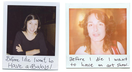 progetto before i die i want to di Nicole Kenney e Ks Rives