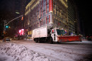 New York neve camion