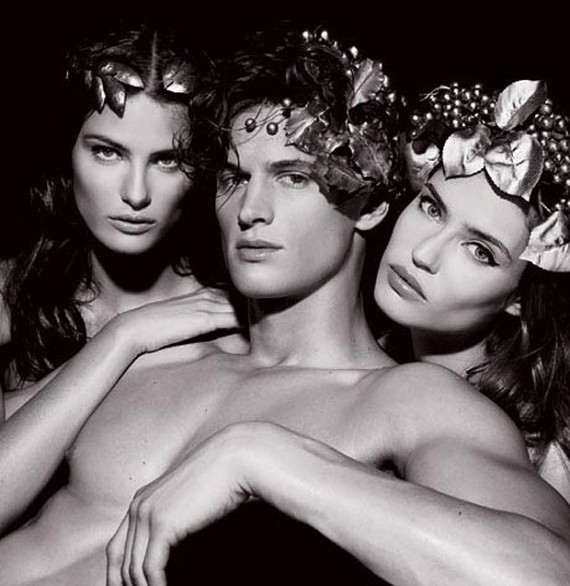Calendario Pirelli 2011_Bacchus with Two Bacchantes