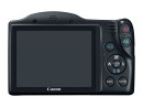 Canon PowerShot SX410 IS display