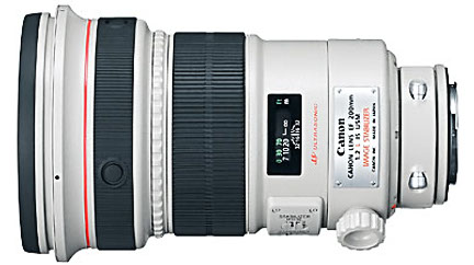 Canon EF 200mm F/2,o IS