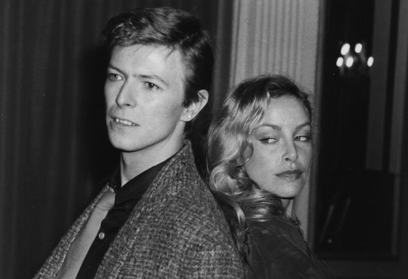 David Bowie,  Sydne Rome, 15 feb 1979 (Photo by Evening Standard/Getty Images)