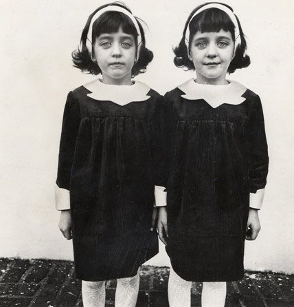 Diane Arbus_Identical Twins (Cathleen, Left, and Colleen) Roselle N.J. 1967