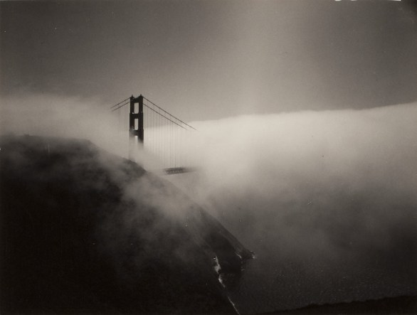 Minor White Golden Gate Bridge, 1959 stampa alla gelatina d'argento © Trustees of Princeton University Collezione Fondazione Cassa di Risparmio di Modena