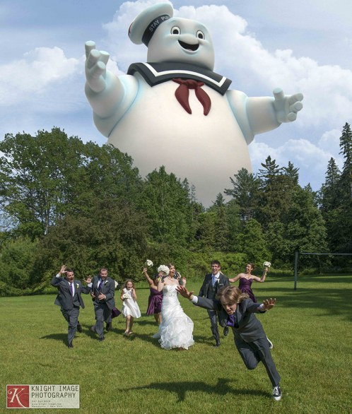 Stay Puft Marshmallow Man Attack (Ghostbusters) by facebook Knight Image Photography