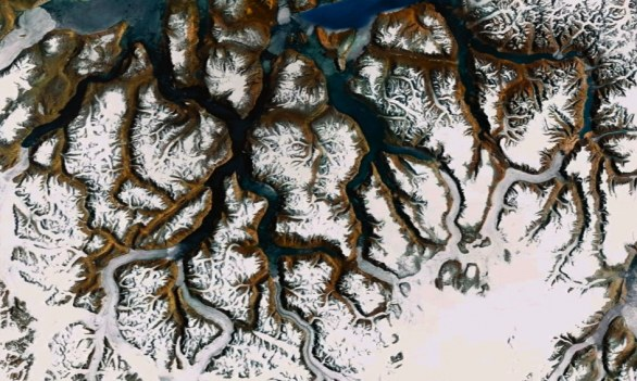 Google_Earth Fractals_Greenland_by_Paul_Bourke