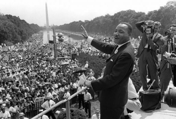 Martin Luther King cinquant'anni dopo, Martin Luther King, foto by AFP/Getty Images.