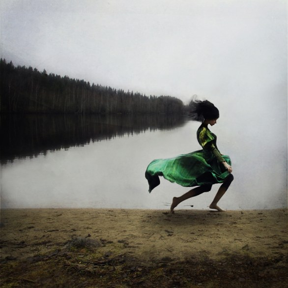 Running with the fairies © Kylli Sparre