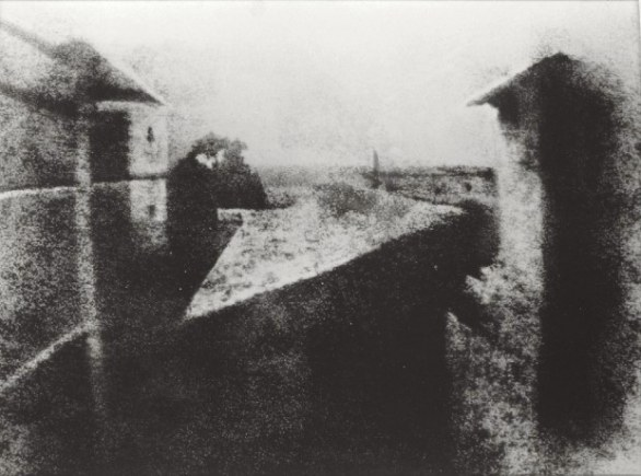 View from the Window at Le Gras - Nicéphore Niépce
