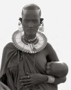 LOVE © HERB RITTS, MAASAI WOMAN AND CHILD, AFRICA, 1993