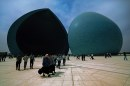 004 The double dome in Baghdad dedicated to the dead during the war against Iran. ©Michael Yamashit