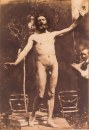 Charles Alphonse Marlé (French, 1821-after 1867), Standing Male Nude. Photo The Metropolitan Museum of Art