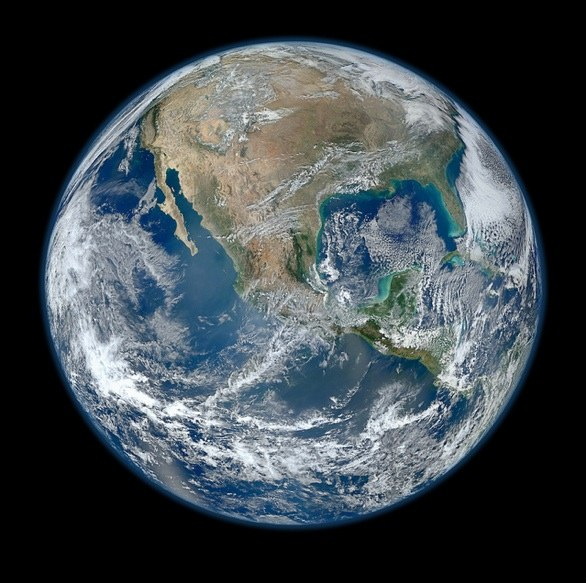 NASA Most Amazing High Definition Image of Earth - Blue Marble 2012