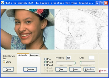 Photo to Sketch 3.5