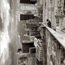 Looking for my lost dog in Central Park ©Thomas Barbey