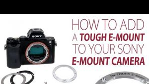 Fotodiox The Tough E-Mount, come rendere salda la baionetta della Sony A7