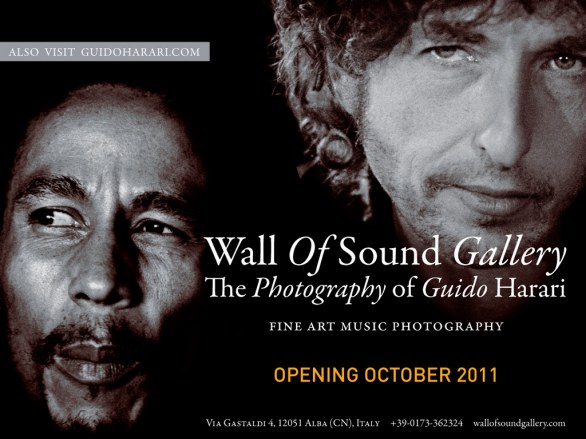 Wall Of Sound Gallery The Photography of Guido Harari