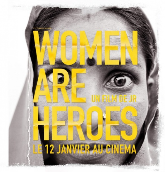 Women Are Heroes di JR: una saga che continua