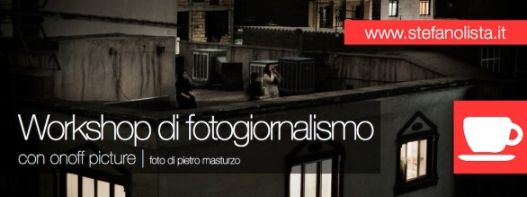 workshop Fotogiornalismo e Storytelling