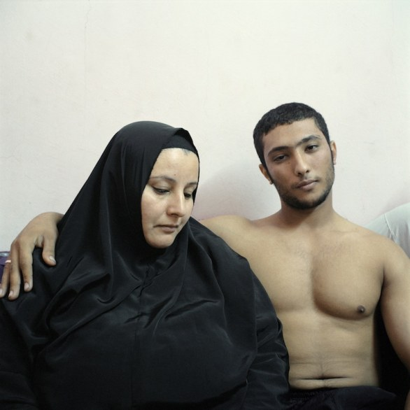 17 PEOPLE – STAGED PORTRAITS STORIES - Denis Dailleux, France, Agence Vu, Mother and son, Egypt © World Press Photo of the Year 2013