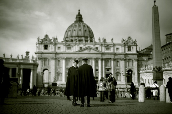 Alternative View - Pope Francis Attends His Sunday Angelus Blessing at St. Peters Square