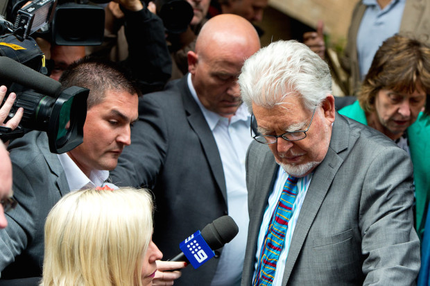 Rolf Harris Found Guilty Of 12 Indecent Assault Charges