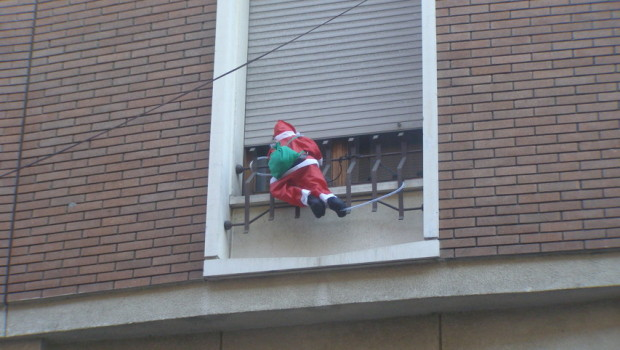 Babbo Natale illegale