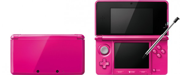 3DS gloss pink