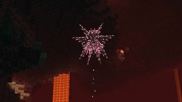Minecraft-fuochi-artificio