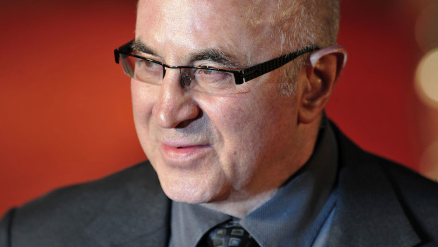 English actor Bob Hoskins attends the wo