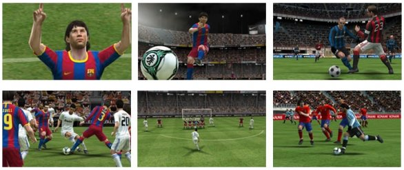 Pro Evolution Soccer 3DS: galleria immagini
