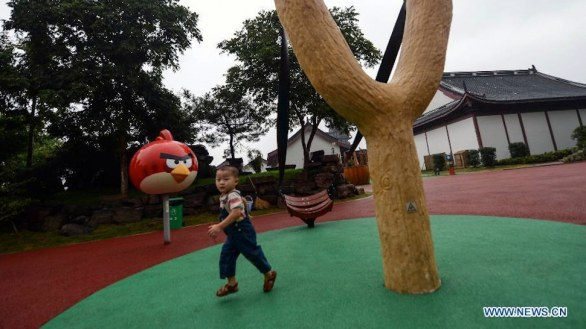 Angry Birds: apre in Cina il parco tematico