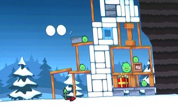 Angry Birds Christmas: prime immagini